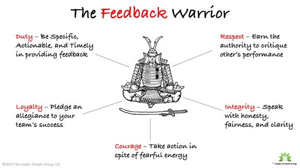 The Feedback Warrior 2019