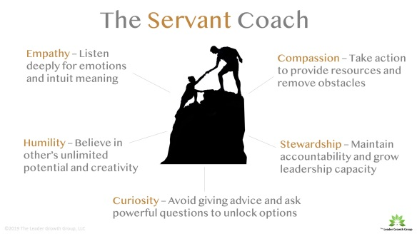 Servant Coach with Logo